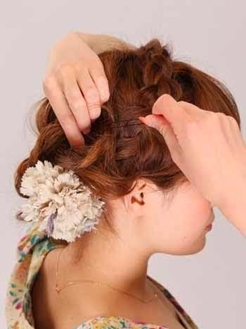 kessdsds: Cara Mengikat Rambut Pendek Sebahu Keren ala Korea
