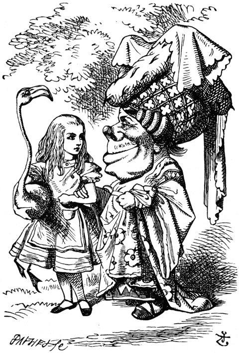 Alice's Illustrated Adventures In Wonderland: Chapter 9 ...