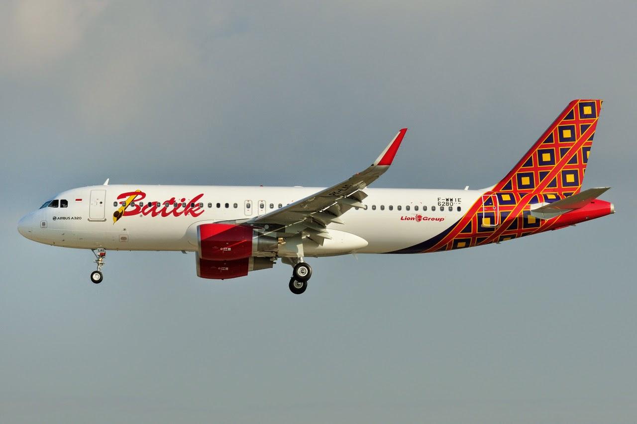Airbus Hamburg Finkenwerder News: A320-214SL, Batik Air, F ...