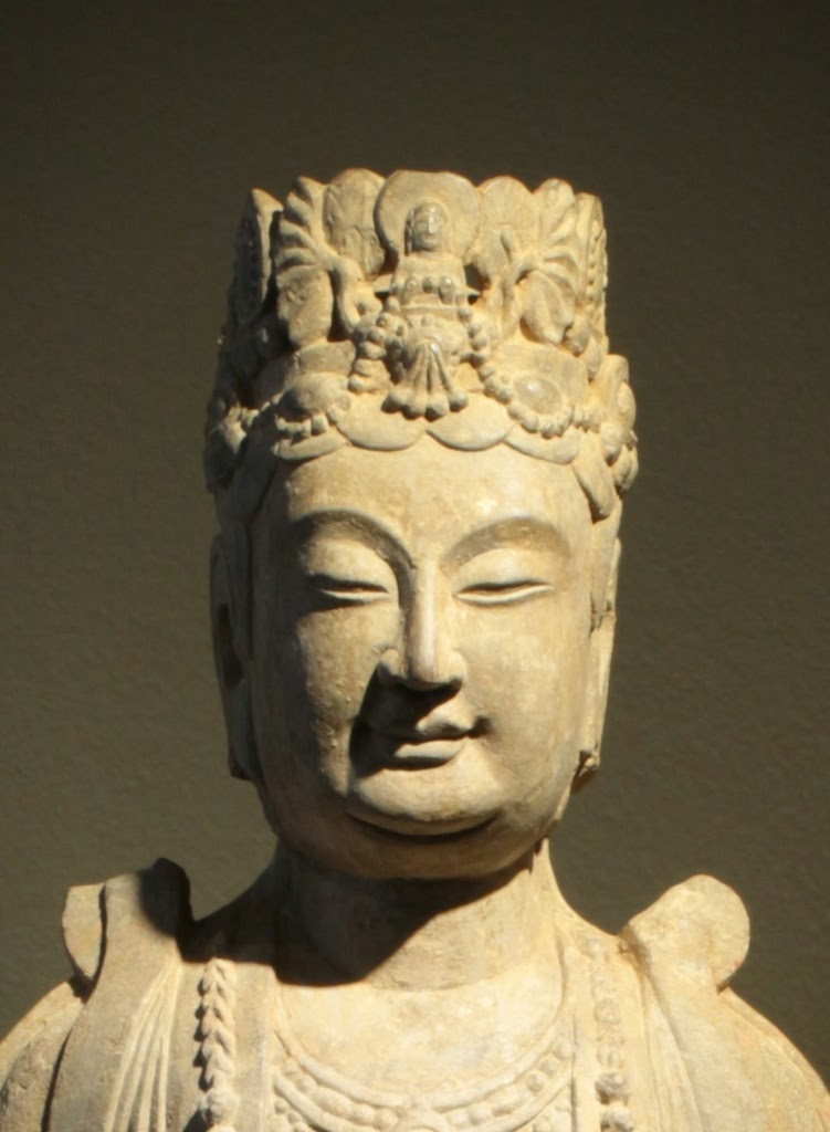 Tom Swope's blog: A Crowned Bodhisattva Head and its type.