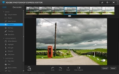 Edit images online with Photoshop Express | How About Orange