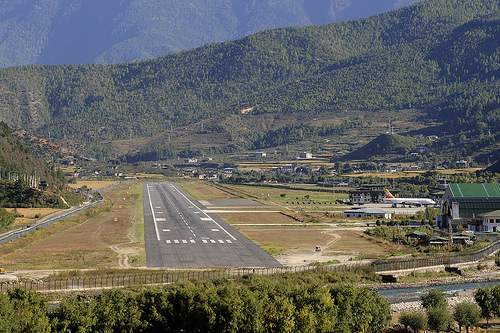 Paro International Airport, Bhutan | Photobundle