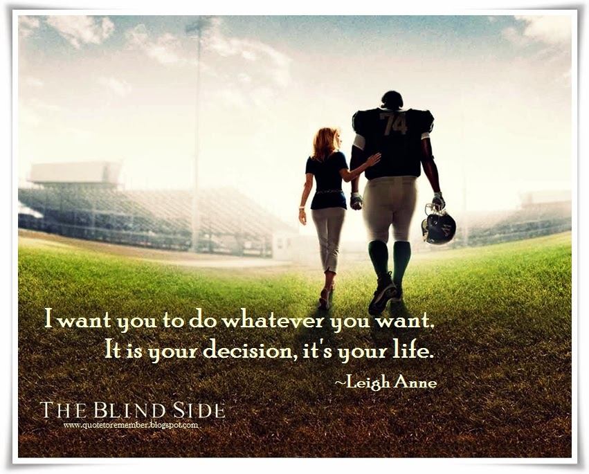 Quotes From The Blind Side. QuotesGram