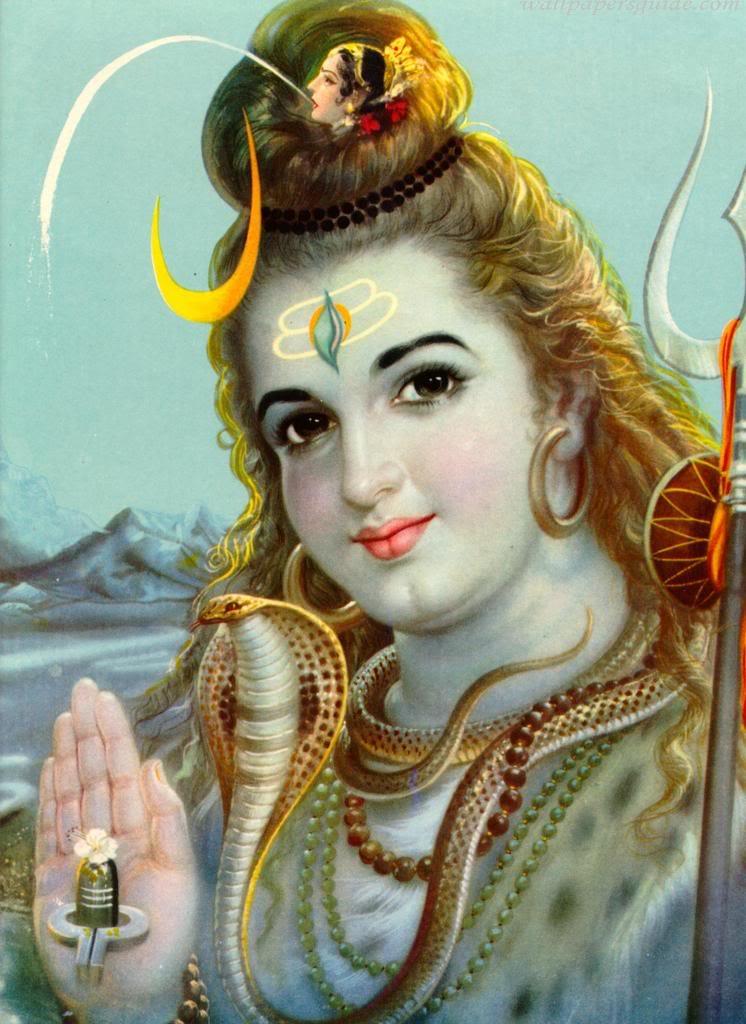 Shiva's head