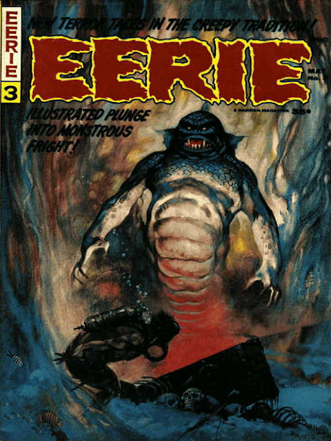Dr. Theda's Crypt: Eerie Covers... from the 70's....
