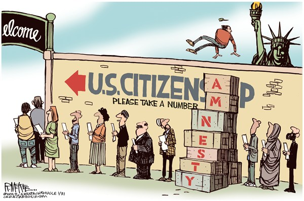 The American TEA Party: Immigration Reform = Democratic Control of the US for Generations ... J ...