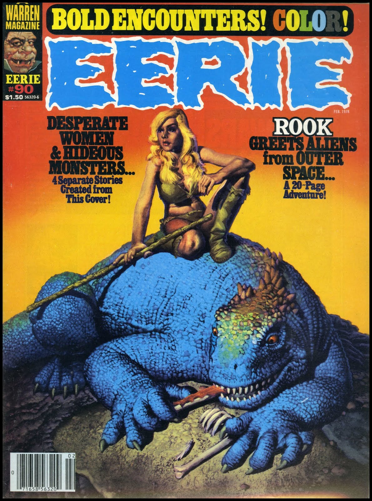 Fantasy Ink: Corben Eerie Covers
