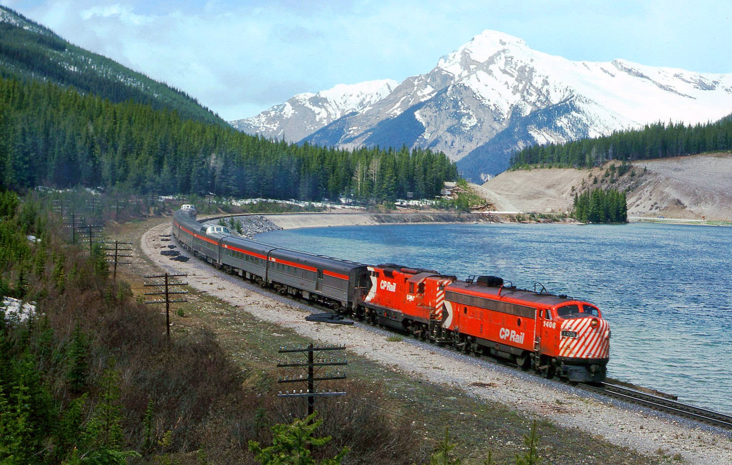 transpress nz: Canadian Pacific FP9A