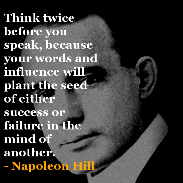 Quotes By Napoleon Hill. QuotesGram