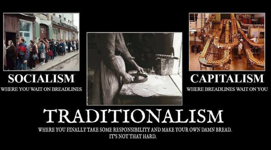 Socialism — Capitalism — Traditionalism | Letter from ...