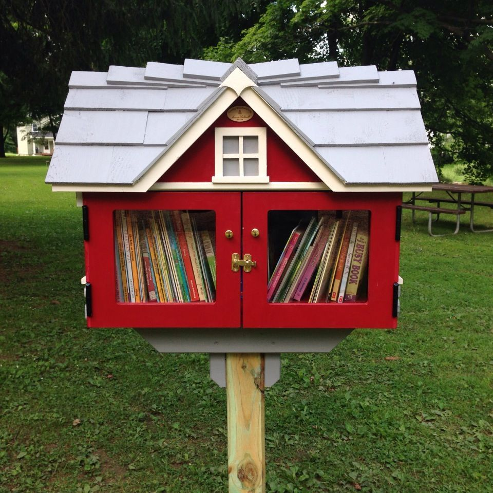 Little libary, global concept: Marcellus Free Library ...