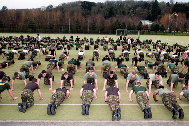 The Classic Press-up – Boot Camp & Military Fitness Institute