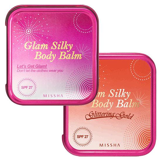 Missha Glam Silky Body Balm Шёлковая сияющая крем-пудра ...