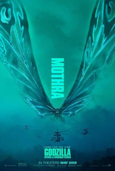 Godzilla: King of the Monsters Posters Unleash Ghidorah & Mothra | Collider