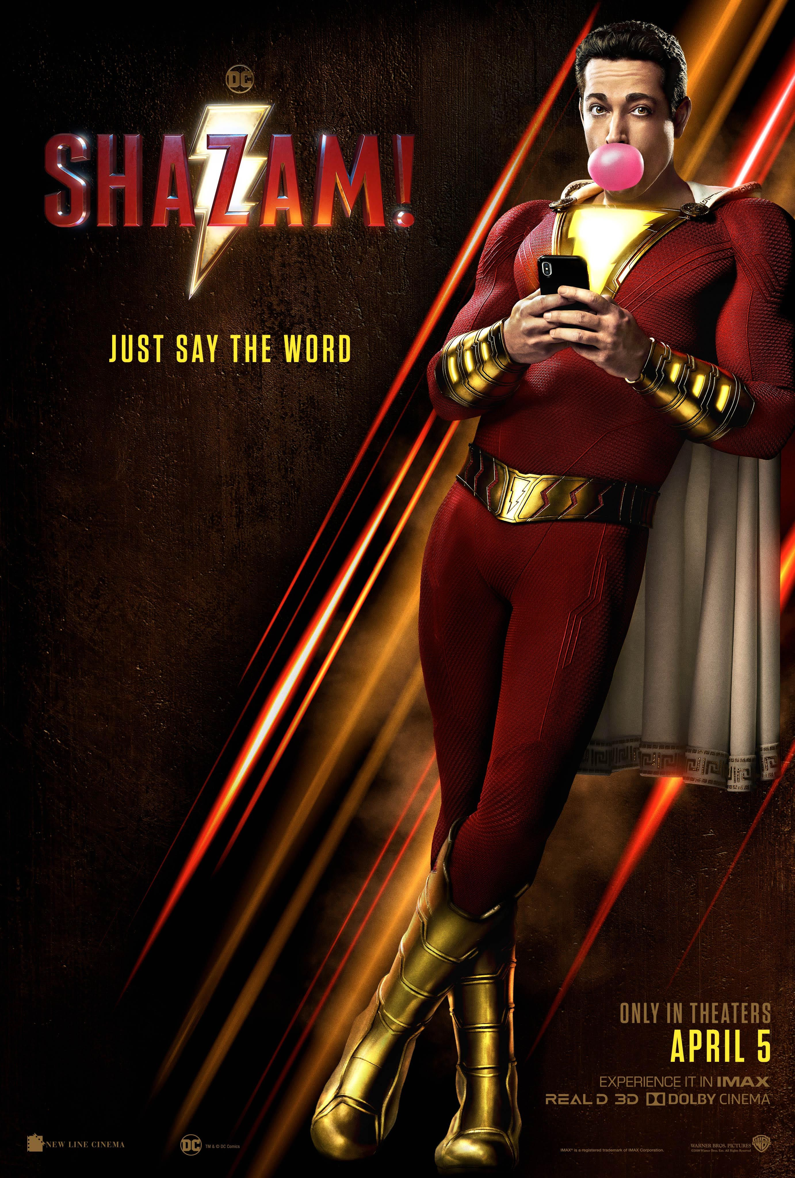 New Shazam Poster Reminds You the Movie Is Fun | Collider