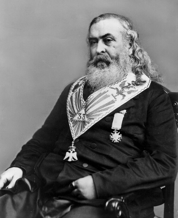 Letter sent by Albert Pike 200 years ago reveals World War ...