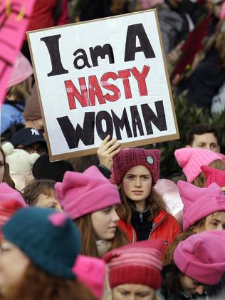 Women's March in Washington: Massive numbers turn up for ...