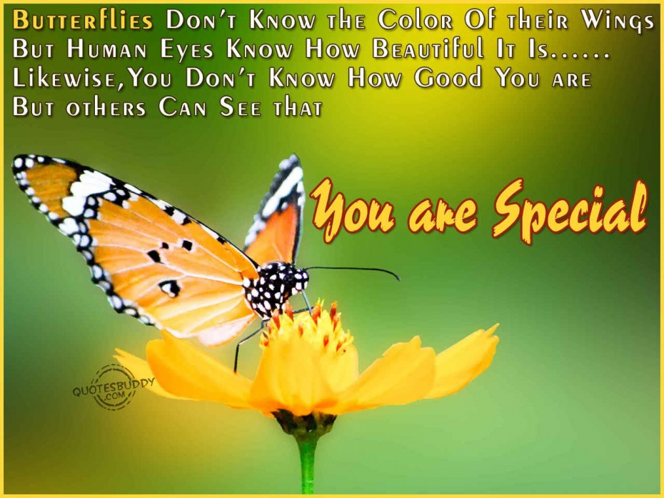 So You Are Special Quotes. QuotesGram
