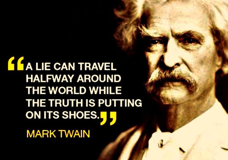 Mark Twain Quotes On Lying QuotesGram