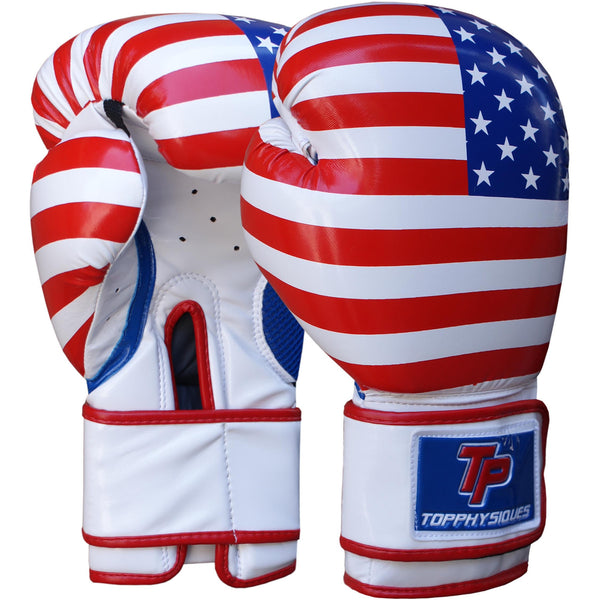 USA Boxing Gloves - Topphysiques Wear