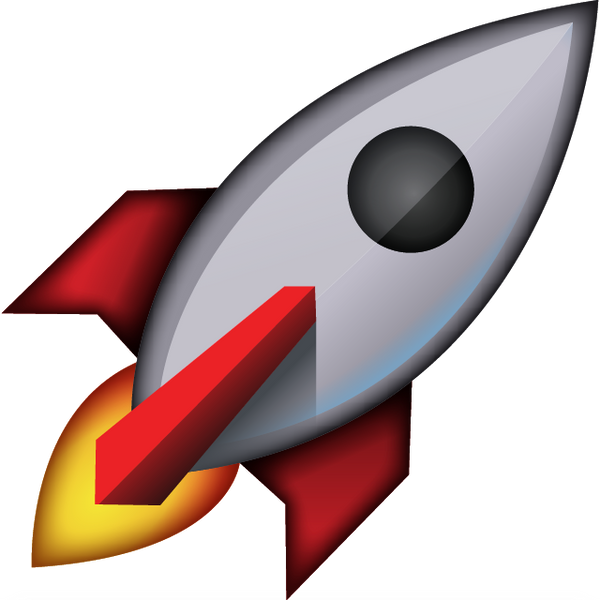 Download Rocket Emoji Icon | Emoji Island