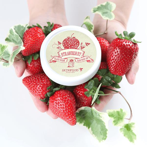 Black Sugar Strawberry Mask Wash Off – SKINFOOD since 1957