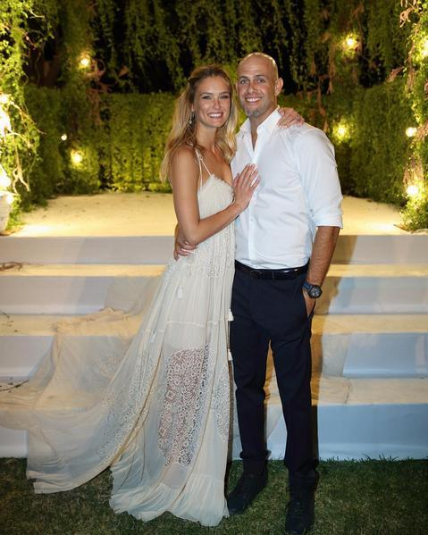 Bar Refaeli shares wedding photo with Adi Ezra - UPI.com