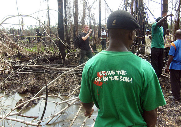 Oil pollution in Niger Delta: Environmental Assessment of ...