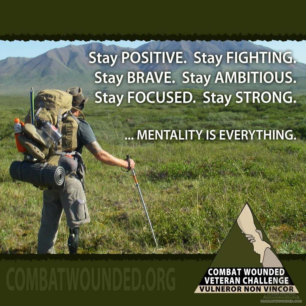 Motivational Memes - Combat Wounded Veteran Challenge