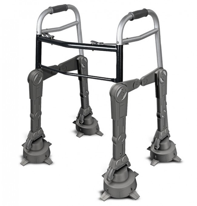 Got a Spare 400 Hours? Make Your Kid a Tri-Level Star Wars Imperial Walker Bed -Craziest Gadgets