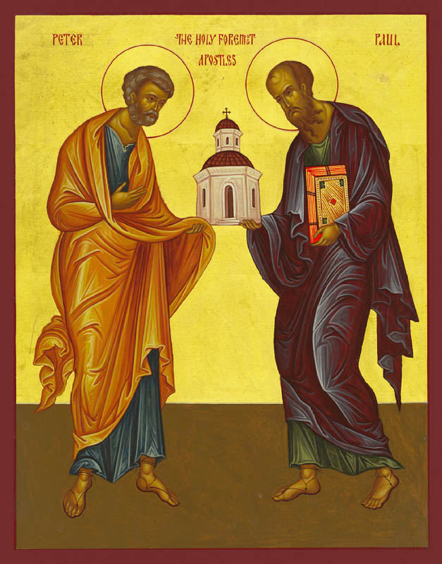 Holy Apostles Peter and Paul – Damascene Gallery