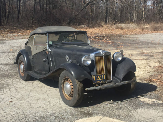 1950 MGTD Out of Long Term Storage Last on the Road in ...