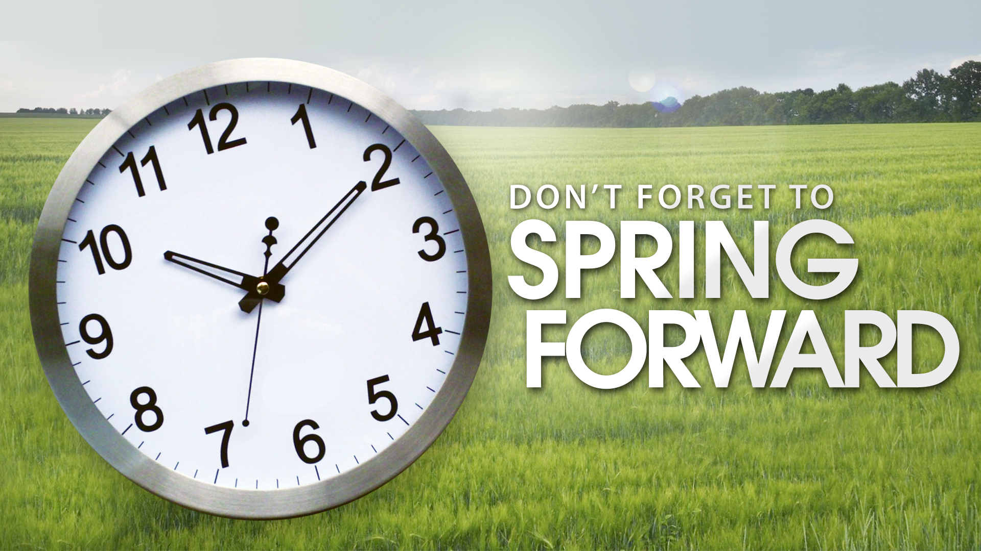 Be ReadyWisconsin when you Spring Forward