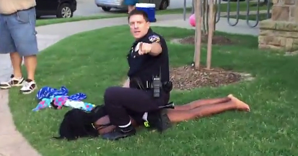 Black teen girl assaulted by white cop at Texas pool party ...
