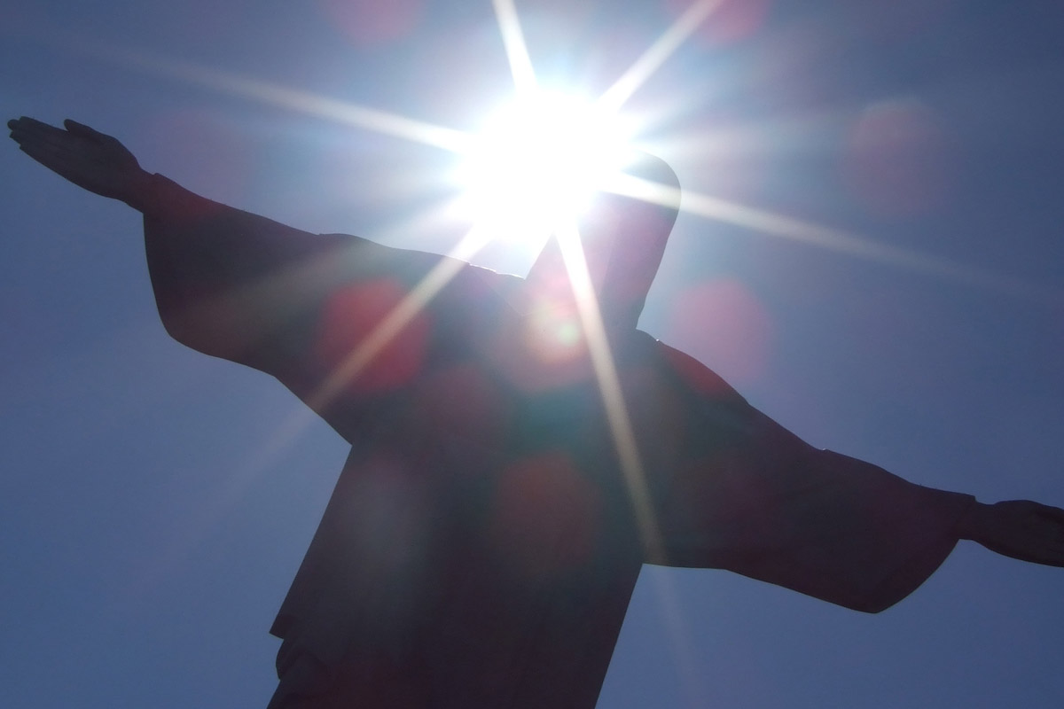 Christ The Redeemer Statue on Corcovado Pictures - Rio,
