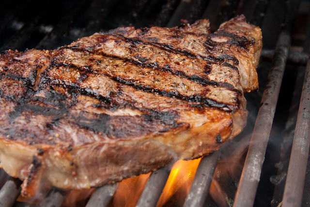 Ribeye on grill action... | Flickr - Photo Sharing!