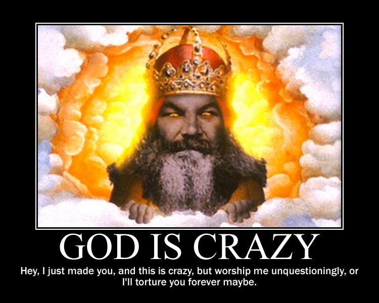 God is crazy by fiskefyren on DeviantArt