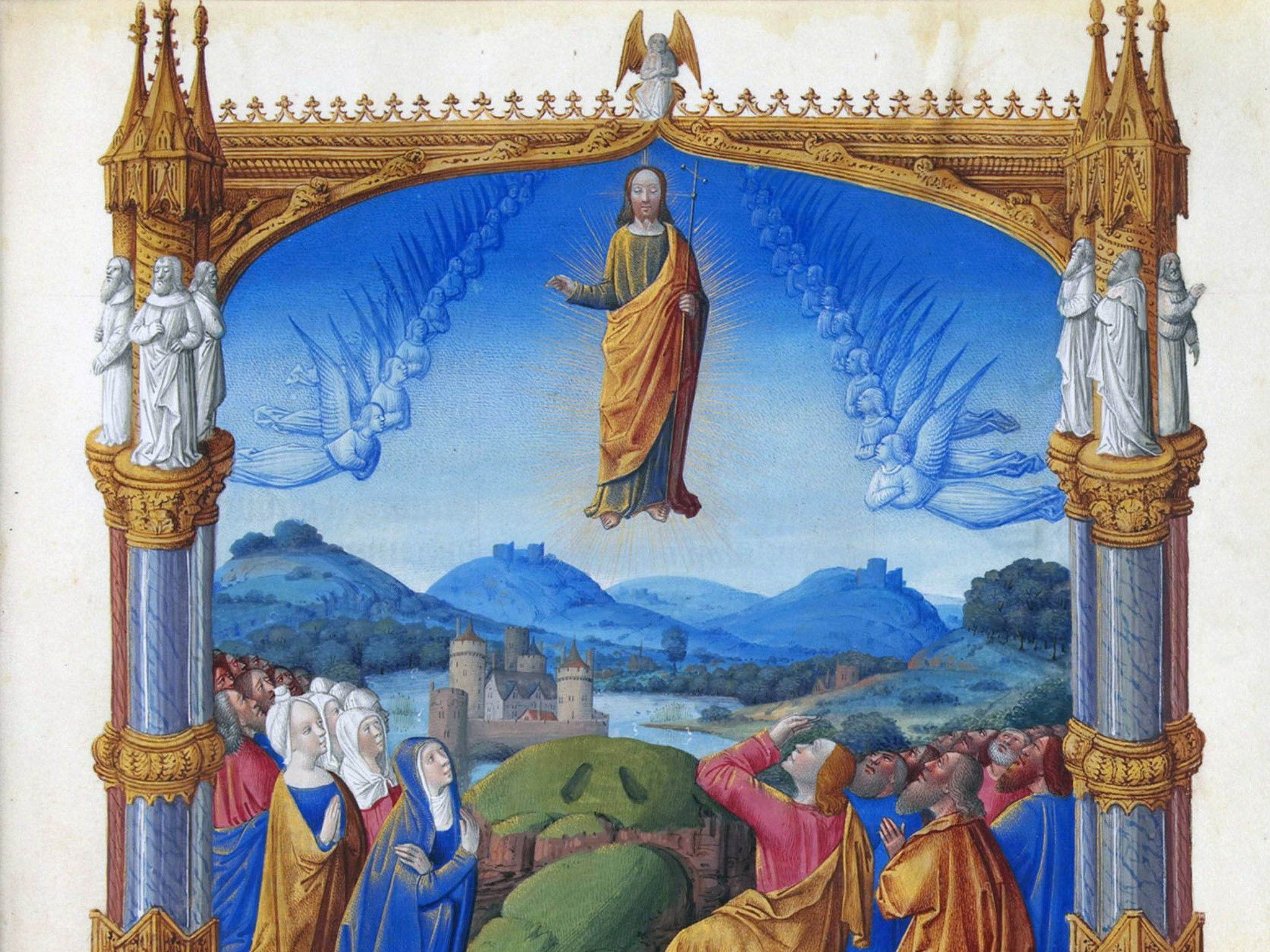 Ascension Day - Le jeudi de l'Ascension - French Moments