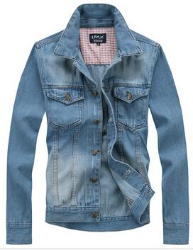 2015Fashion pria baru jaket jeans, Man denim jaket, Jean mantel tahan dr, 3 warna ukuran M XXL ...