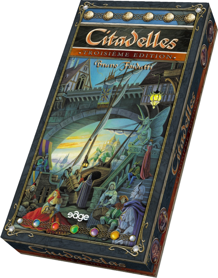 Vous jouez à Citadelles? Voici une extension originale ...