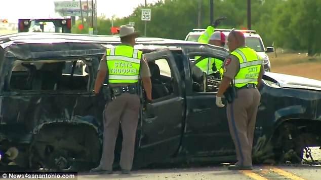 100mph Crash Kills 5 illegal Immigrants Fleeing from ...