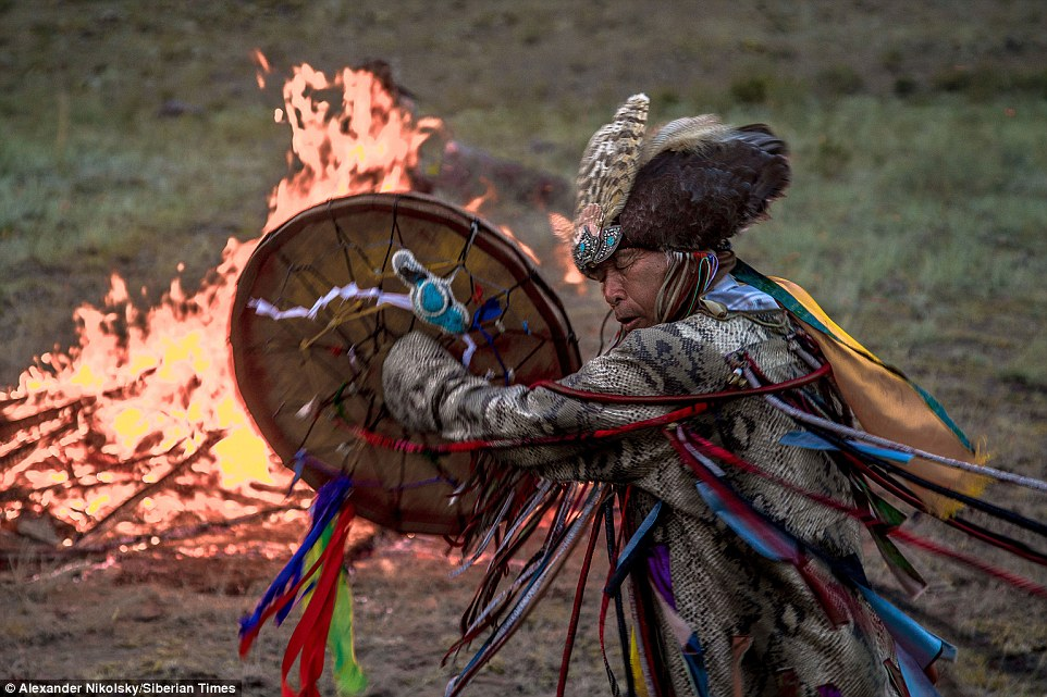 Shamans gather in Siberia for Call of 13 Shamans ceremony ...