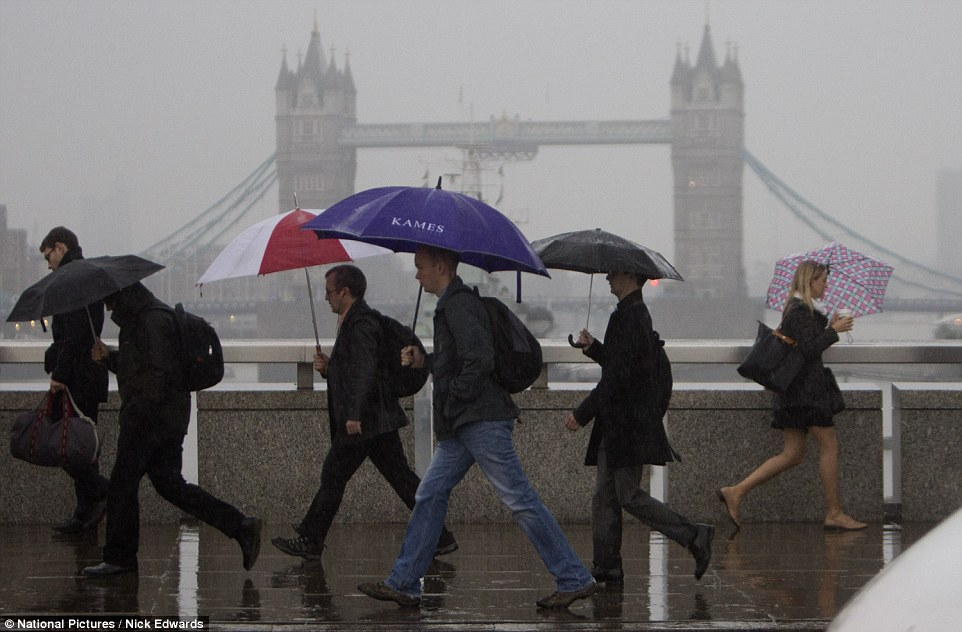 Britain battered by torrential rain, thunderstorms and ...