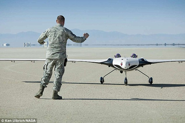 X-56A drone that will use flexible wings could reduce ...