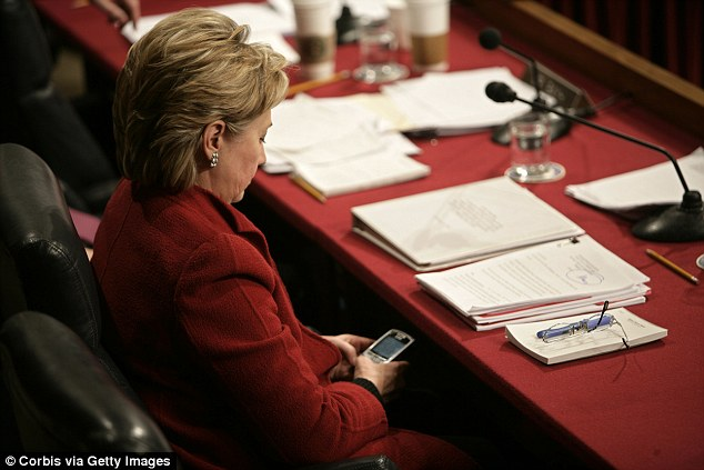 Hillary Clinton 'used Blackberry to send emails as she's ...