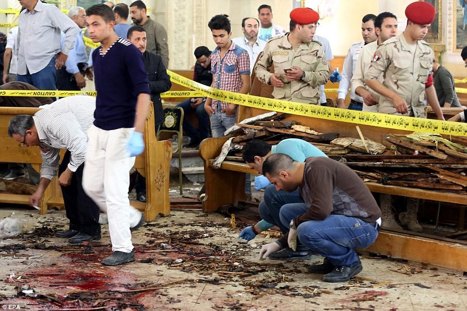 Cairo church bombing kills 43 in Palm Sunday massacre ...