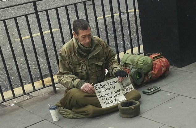 Homeless ex-soldier died as he slept on Edinburgh streets ...