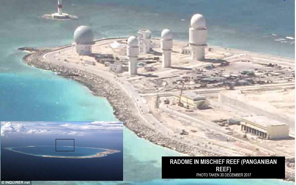 USA: China's militarisation of the South China Sea ...