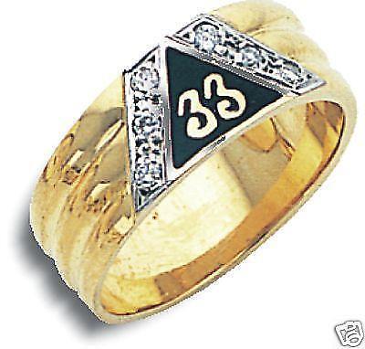33rd Degree Masonic Ring | eBay