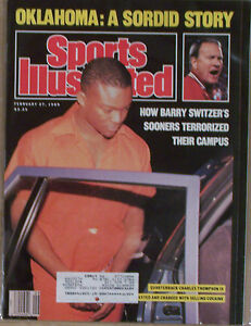 CHARLES THOMPSON OKLAHOMA BARRY SWITZER 1989 SPORTS ...